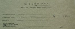 Store Gift Certificate-$5.00
