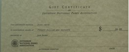 Store Gift Certificate-$20.00