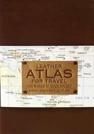 Leather Atlas for Travel