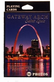Playing Cards: Jefferson National Expansion Memorial- Night