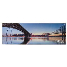 Arch and Eads Bridge Puzzle