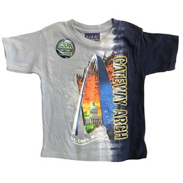Arch Glow in the Dark Vertical Boys Tee Shirt